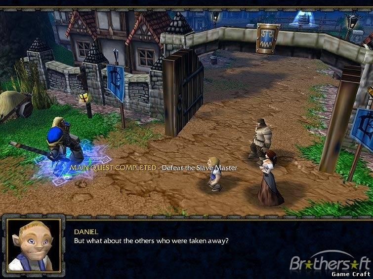 Download Патч для Warcraft III с версии 1.20e до 1.21 (ENG) .
