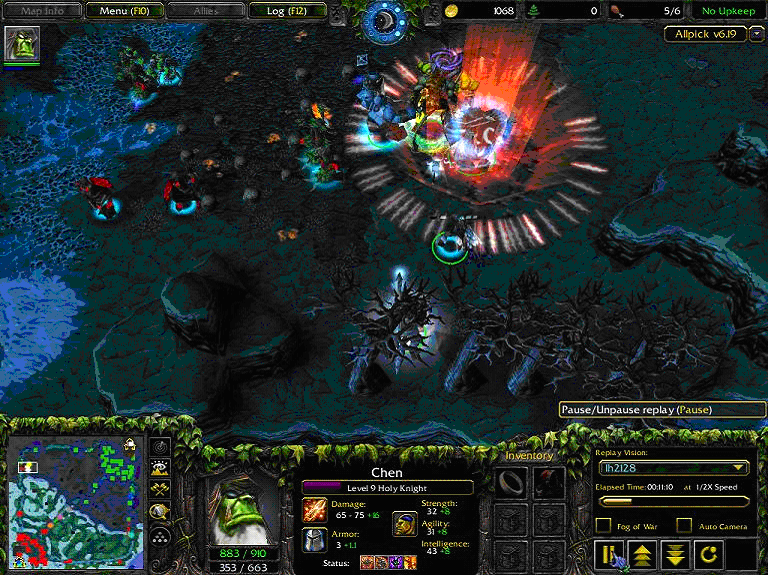 Warcraft 3 v 1 24 вселенная warcraft dota allstars world of.
